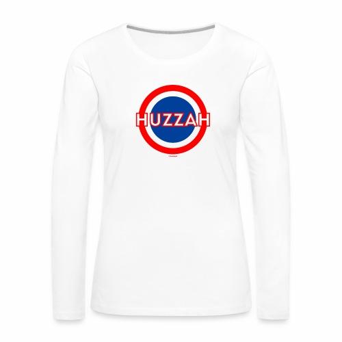 Huzzah - Vrouwen Premium shirt met lange mouwen