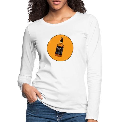 Logo Flash Rap - T-shirt manches longues Premium Femme