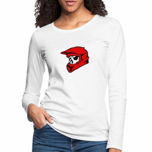 Schaedel Motocross - Frauen Premium Langarmshirt