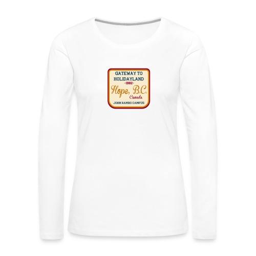 Rambo Hope Holidayland - Koszulka damska Premium z długim rękawem