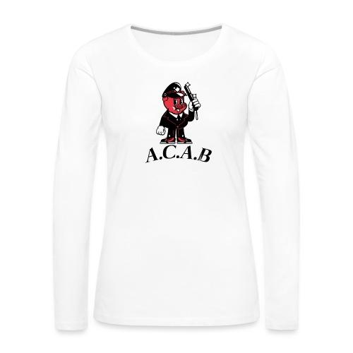 A.C.A.B cochon - T-shirt manches longues Premium Femme
