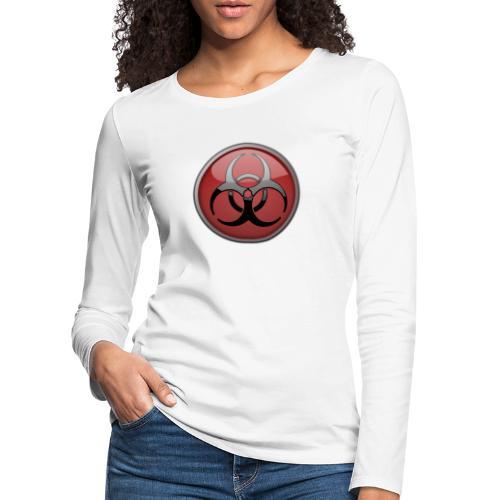 DANGER BIOHAZARD - Frauen Premium Langarmshirt