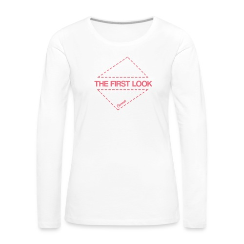 Triangle (H) - T-shirt manches longues Premium Femme