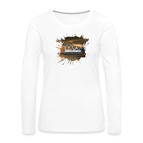 Men's shirt Splatter - Women's Premium Longsleeve Shirt