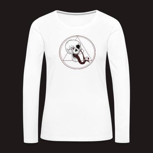 EyeSkull - Frauen Premium Langarmshirt