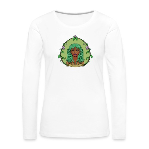 Mother Nature - Camiseta de manga larga premium mujer