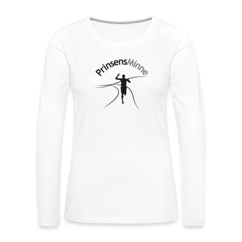 PrinsensMinne logga - Långärmad premium-T-shirt dam