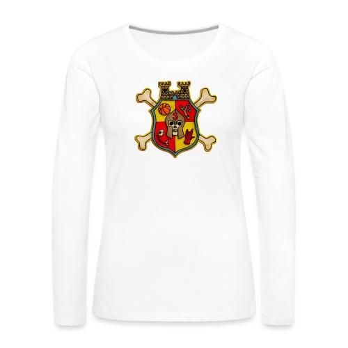 Teenager Premium T-Shirt - Wappen Burg Schreckenst - Frauen Premium Langarmshirt