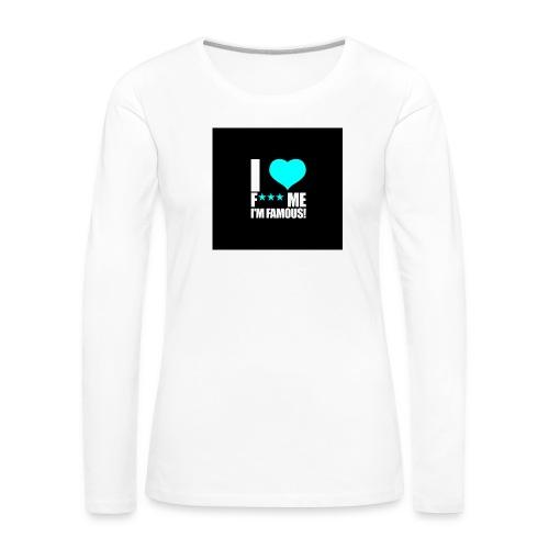 I Love FMIF Badge - T-shirt manches longues Premium Femme