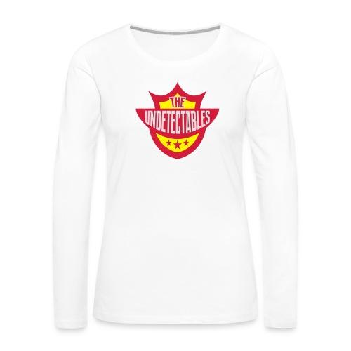 Undetectables voorkant - Vrouwen Premium shirt met lange mouwen