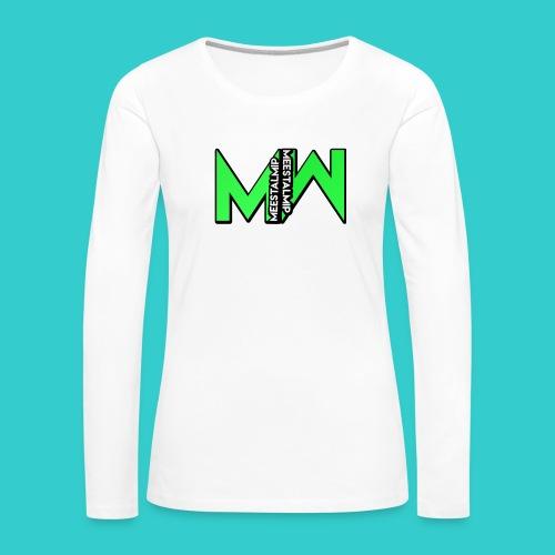 MeestalMip Hoodie - Men - Vrouwen Premium shirt met lange mouwen