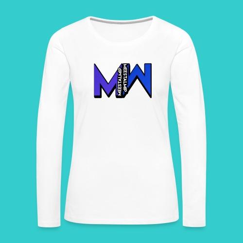 MeestalMip Shirt - Men - Vrouwen Premium shirt met lange mouwen