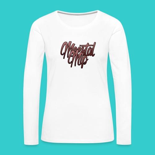 MeestalMip Shirt met lange mouwen - Kids & Babies - Vrouwen Premium shirt met lange mouwen