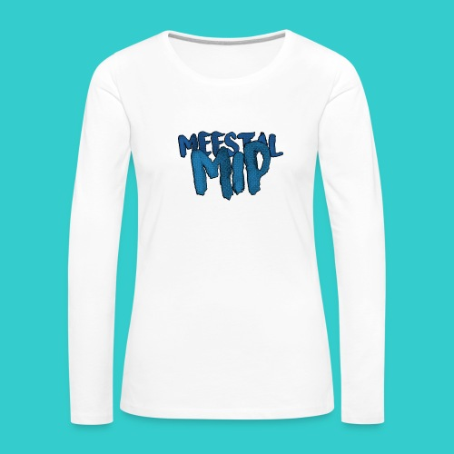 MeestalMip Sweater - Kids & Babies - Vrouwen Premium shirt met lange mouwen