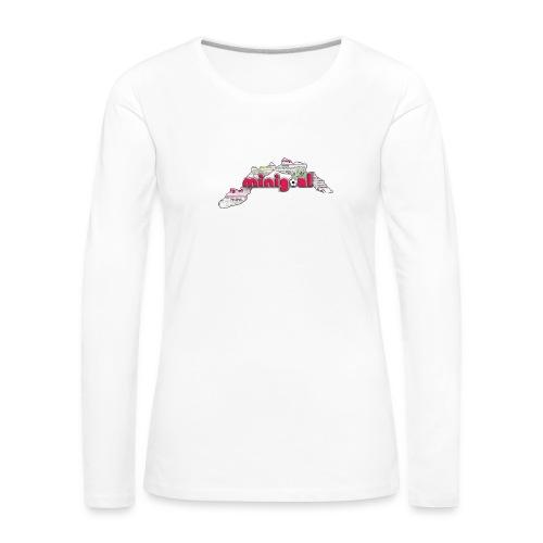 Maglietta Uomo Liguria - Maglietta Premium a manica lunga da donna