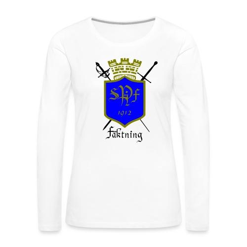 SPIFF Långärmad T-shirt Dam - Långärmad premium-T-shirt dam