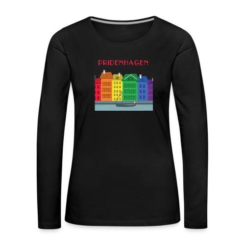 PRIDENHAGEN NYHAVN T-SHIRT - Dame premium T-shirt med lange ærmer