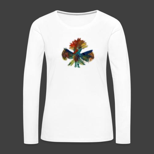 Mayas bird - Women's Premium Longsleeve Shirt