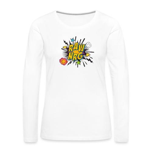 Raw Nrg comic 1 - Women's Premium Longsleeve Shirt