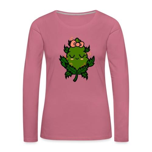 Ms. Weed Nug - Camiseta de manga larga premium mujer
