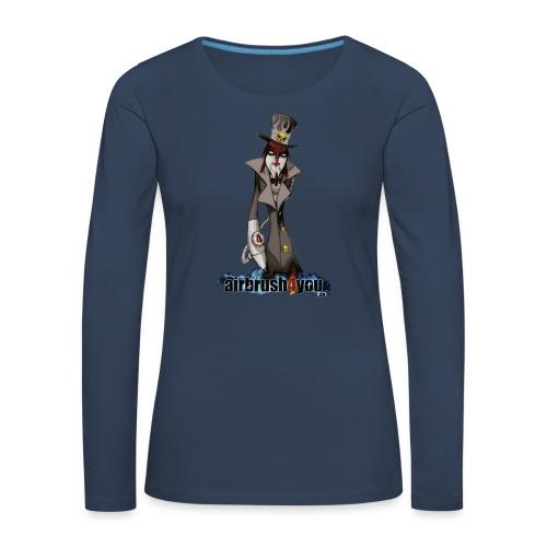 AirbrushDealer - Frauen Premium Langarmshirt