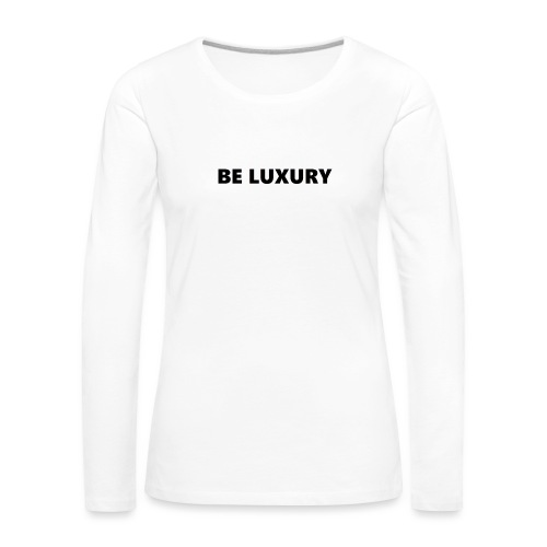 LUXURY CASE 6/6S - Vrouwen Premium shirt met lange mouwen