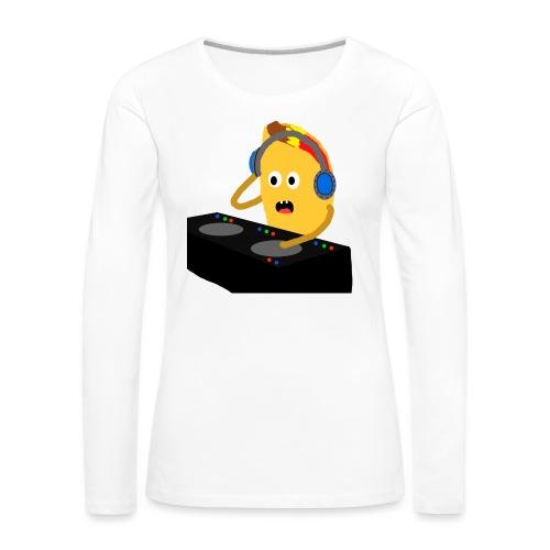 DJ Taco - Premium langermet T-skjorte for kvinner