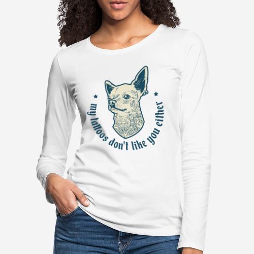 tätowieren - Frauen Premium Langarmshirt