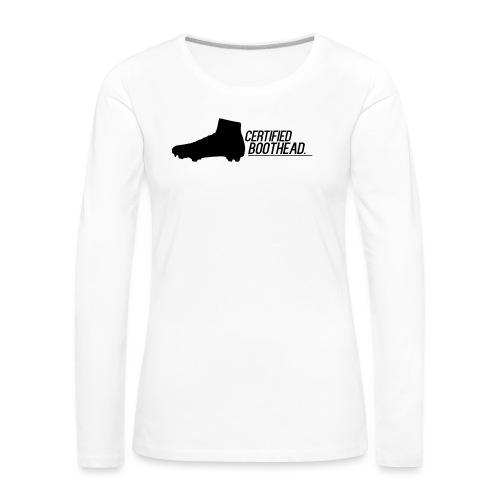 Certified Boothead - Women's Premium Longsleeve Shirt