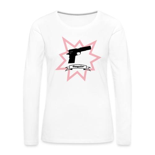Gun with boom! - Women's Premium Longsleeve Shirt