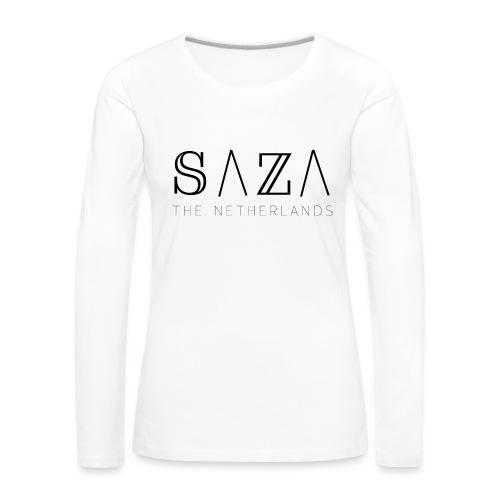 sazakleding - Vrouwen Premium shirt met lange mouwen