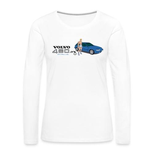 Short man - T-shirt manches longues Premium Femme