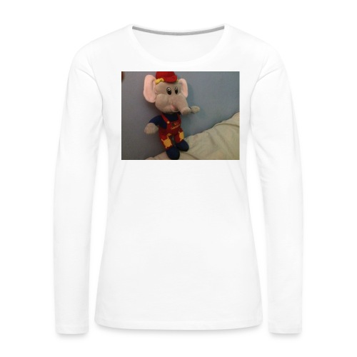 Elliot - Långärmad premium-T-shirt dam