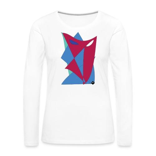 Artwork_One_U - Långärmad premium-T-shirt dam