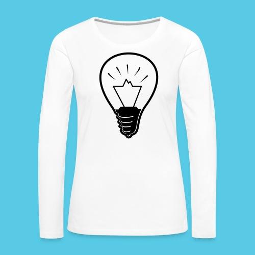 glühende Berge - Frauen Premium Langarmshirt