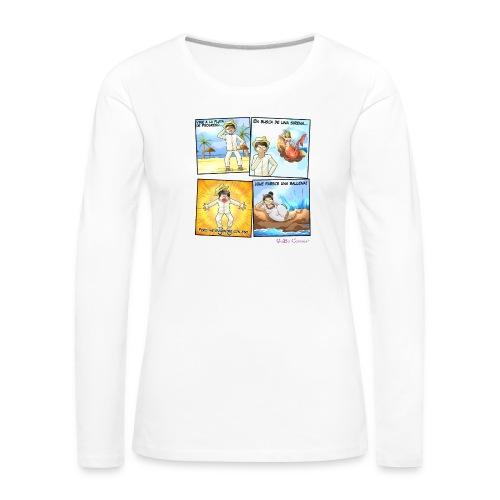 Tremenda Sirena - Camiseta de manga larga premium mujer