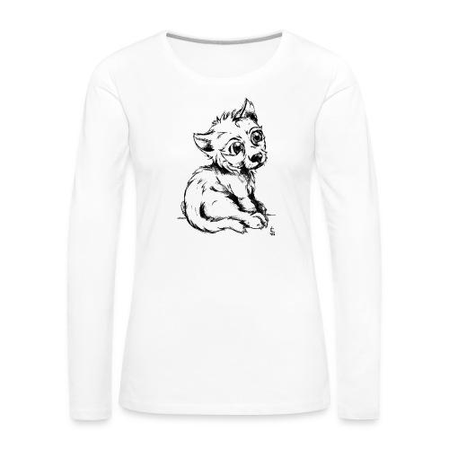 Louvetau - T-shirt manches longues Premium Femme