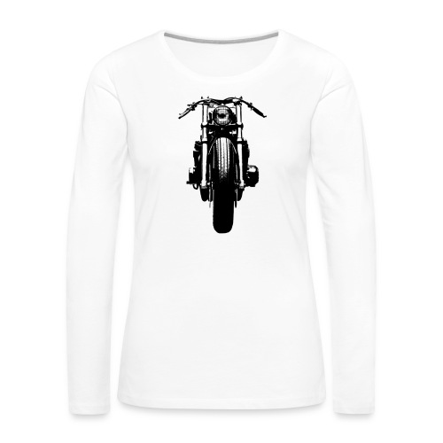 Motorcycle Front - Women's Premium Longsleeve Shirt