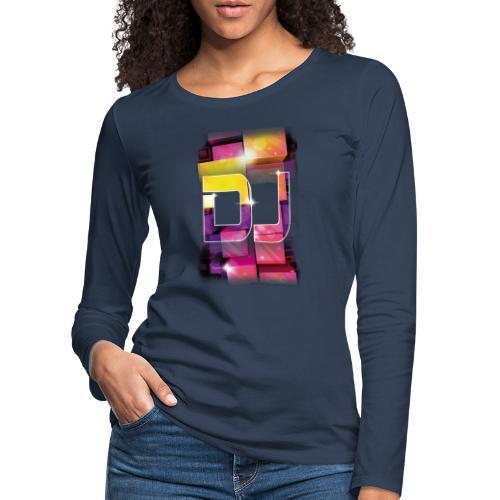 DJ by Florian VIRIOT - T-shirt manches longues Premium Femme