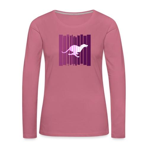 Sighthound In Purple Women's T - Women's Premium Longsleeve Shirt