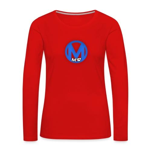 MWVIDEOS KLEDING - Vrouwen Premium shirt met lange mouwen