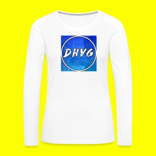 DusHeelVeelgamen New T shirt - Vrouwen Premium shirt met lange mouwen