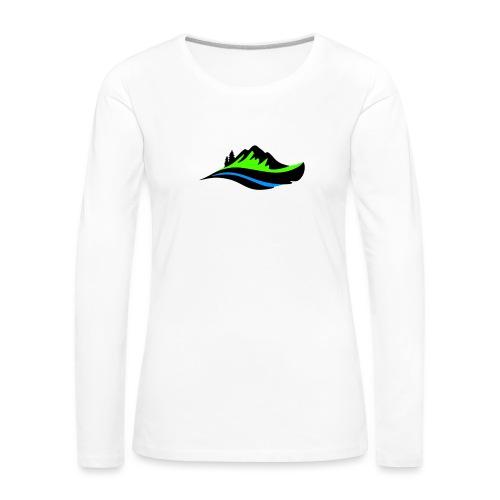 Modern Hoodie Unisex - Långärmad premium-T-shirt dam