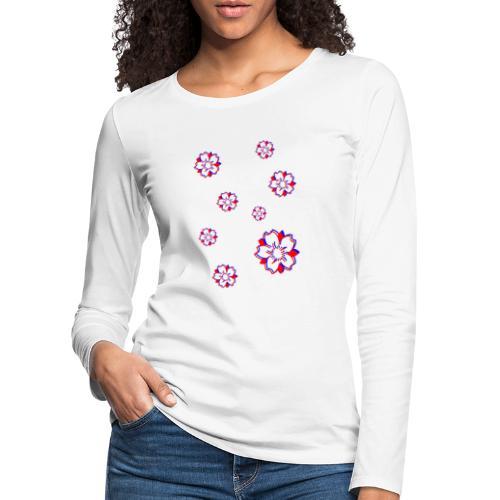 Sakura Psycho - T-shirt manches longues Premium Femme