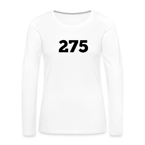 275 - Women's Premium Longsleeve Shirt