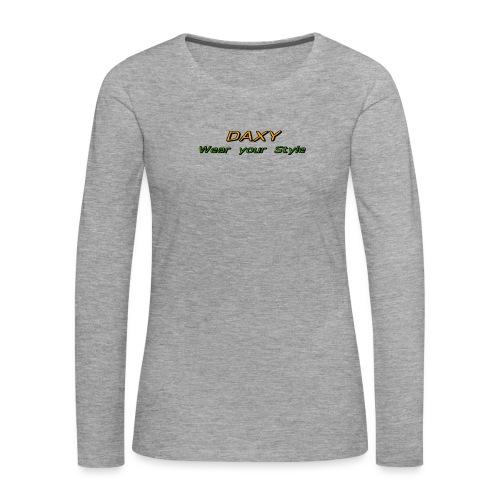 Herren Sixpack Shirt von DAXY - Frauen Premium Langarmshirt