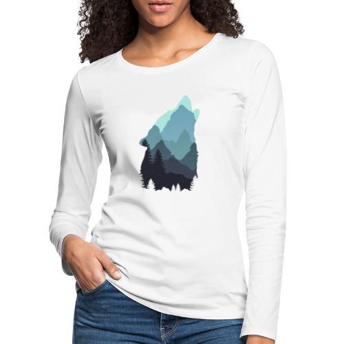 Wolf - Women's Premium Longsleeve Shirt