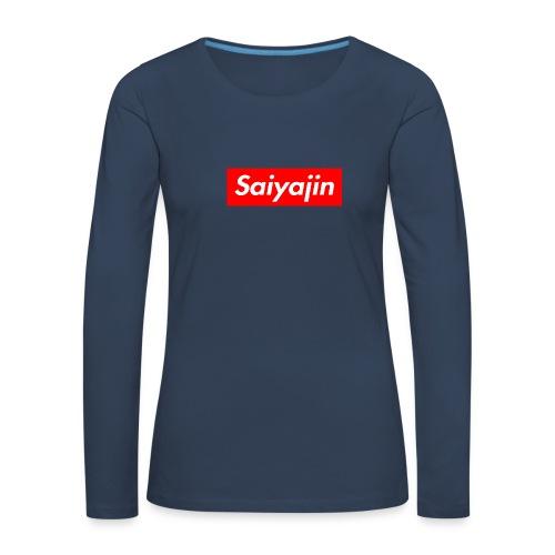 saiyajin - T-shirt manches longues Premium Femme
