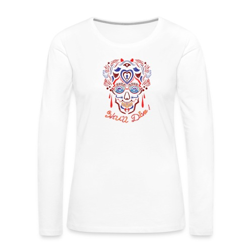 Skull Tattoo Art - Women's Premium Longsleeve Shirt