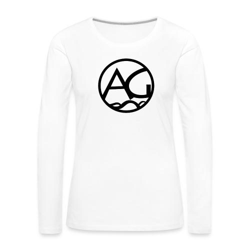 AG - Naisten premium pitkähihainen t-paita